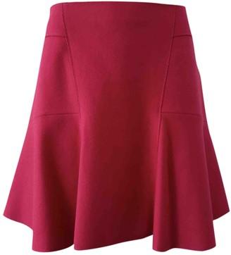 Tara Jarmon Pink Wool Skirt for Women