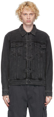 Juun.J Black Denim Jacket