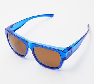 Solarite Polarized Unisex Fitover Sunglasses with Case