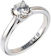 Leo Diamond platinum 0.66ct I-SI2 solitaire ring