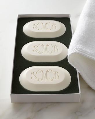 Carved Solutions Original Soap Trio - Monogram