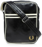 Fred Perry Black Logo Cross Body Bag