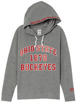 PINK The Ohio State University Crossover Pullover Hoodie