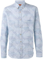 Missoni patch shirt - men - Cotton - M