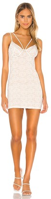superdown Corral Lace Mini Dress