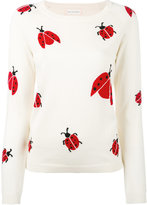 Chinti and Parker ladybird sweater - women - Merino - XS