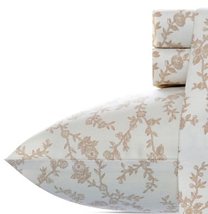 Laura Ashley Victoria Cotton Flannel Sheet Set, Twin