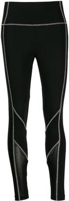 Karl Lagerfeld Paris contrast stitch leggings