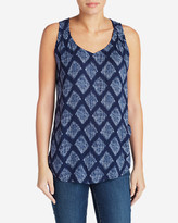 Eddie Bauer Women's Thistle Tank Top - Printed