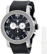 Swiss Legend Men's 30465-01-WA Cyclone Analog Display Swiss Quartz Black Watch