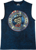 NOVELTY SEASON Grateful Dead American Muscle Cotton Tank Top