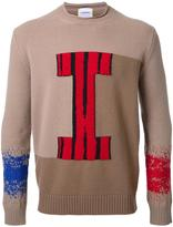 Iceberg logo motif jumper - men - Virgin Wool - S