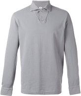 Danolis - longsleeved polo shirt - men - Cotton - M