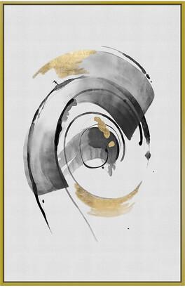 Jonathan Bass Studio Golden Swirl Gold Leaf