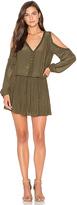 Ramy Brook Maisie Embellished Cold Shoulder Dress
