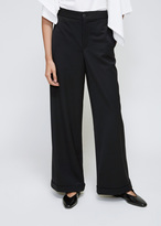 J.W.Anderson Black Wide Leg Turn Up Trousers