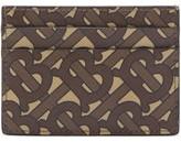 Burberry Logo-print Canvas Cardholder - Mens - Brown