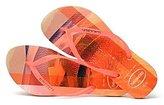 Havaianas Brazil Women`s Flip Flops Slim Metal Logo Sandal Any