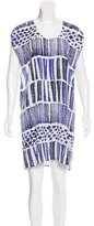Max Mara Watercolor Shift Dress