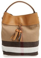 Burberry 'Medium Susanna' Bucket Bag - Brown