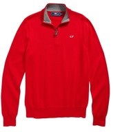 Vineyard Vines Boy's Classic Quarter Zip Sweater