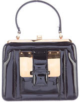 Valentino Patent Leather Frame Bag