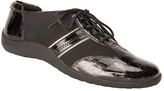 Ros Hommerson Black Nancy Leather Sneaker