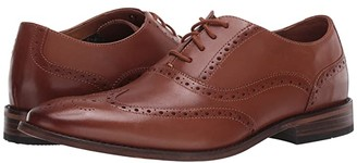 Bostonian Lamont Wing (Dark Tan Leather) Men's Shoes