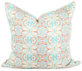 Bunglo By Shay Spaniola Ocean Breeze 20x20 Pillow - Orange