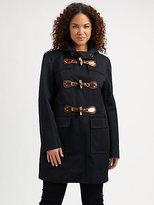 MICHAEL Michael Kors MICHAEL MICHAEL KORS, Salon Z Toggle Duffel Coat