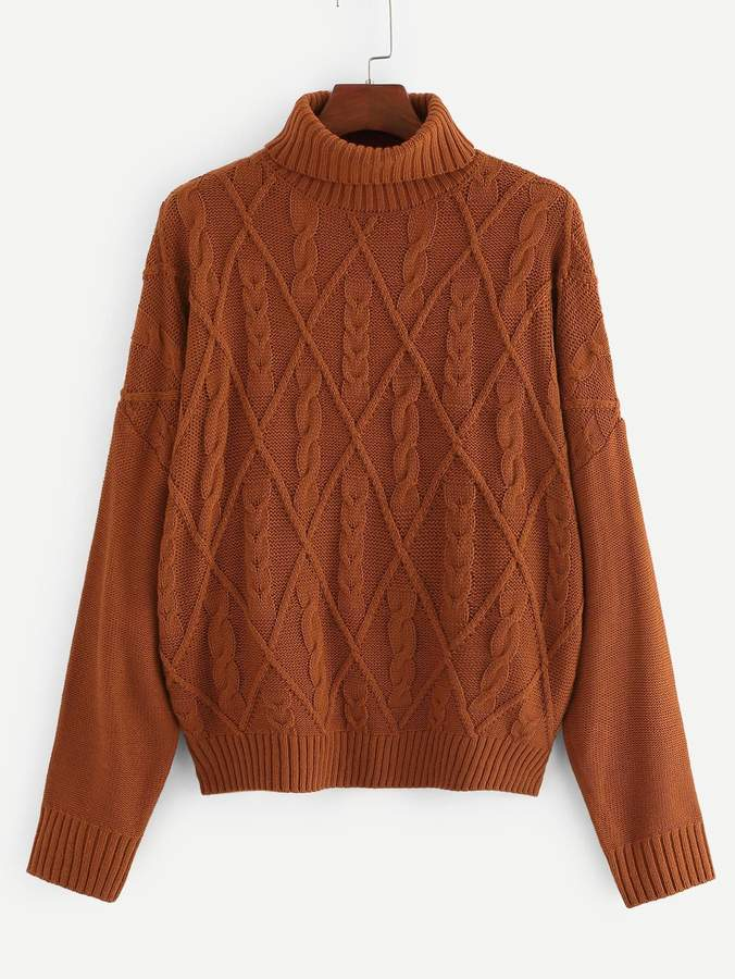 0ef53735a5 Plus Cable Knit Sweater - ShopStyle
