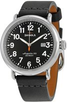 Shinola Men's 41mm Leather Band Quartz Dial Analog Watch S0100114