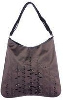 Prada Embellished Satin Evening Bag