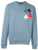 Raf Simons Ace of Clubs print sweatshirt
