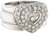 Chopard Happy Heart Diamond Ring