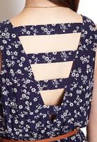 Forever 21 Soft Floral Jumpsuit