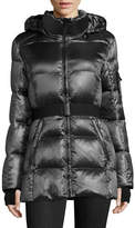 S13 Belted Down-Filled Coat