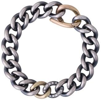 hum 18kt Gold Diamond Chunky Chain Bracelet