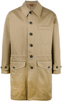 Barena classic single-breasted coat - men - Cotton - 48