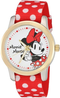 Disney Minnie Mouse Women's Two Tone Alloy Watch