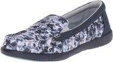 Crocs Women's Walu II Striped Floral Loafer Boat Shoe