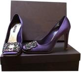 Louis Vuitton Purple Heels