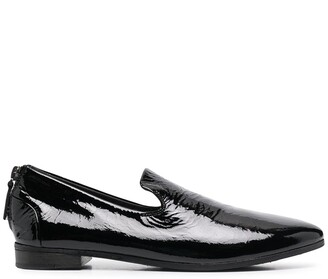 Marsèll Pointed Toe Rear Zip Loafers