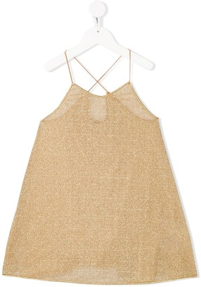 Oseree Kids Metallic Shift Dress