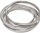 Jewelry Tapered Hammered Silver Bangles