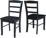 Asstd National Brand Madrid Ladderback Side Chair