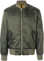 Helmut Lang reversible bomber jacket - men - Cotton/Nylon/Polyester/Polyurethane - S
