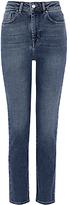 Karen Millen Authentic Wash High Waisted Jeans, Denim