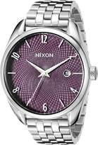 Nixon Women's A4182157 Bullet Analog Display Japanese Quartz Silver Watch