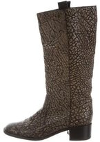 Devi Kroell Embossed Leather Boots